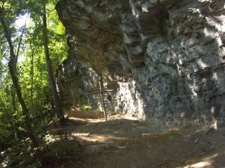 La specola di S.Michele dove S.Colombano si è ritirato a vivere gli ultimi mesi nel 615
